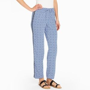 Talbots Pants & Jumpsuits - Talbots Mosaic Tile Drawstring Pant